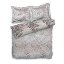 Heckett & Lane dekbedovertrek Venne is een tweepersoons dekbedovertrek van 240x200/220 cm en gemaakt van 100% katoen-twill. Dekbed Venne toont een varenbos, in grijstinten.