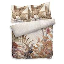 Heckett & Lane dekbedovertrek Naranjo is gemaakt van katoen. Katoen is zacht, absorberend, prettig voor de huid, ademend en gaat lang mee. Daarnaast is het een stof met een enorme kleurvastheid.