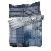Dekbedovertrek Gavriel van Heckett & Lane is verkrijgbaar in de kleur blauw. Het dekbedovertrek is verkrijgbaar in diverse maten en is gemaakt van 100% katoen.