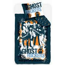 Dekbedovertrek Ghost Rockers is een eenpersoons dekbedovertrek van 140x200 cm. Zodra je dit heerlijk zachte Ghost Rockers dekbed in huis hebt kruip je nóg liever onder de lakens!