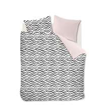 Ambiante dekbedovetrek Loke - soft pink - 260x200/220 cm