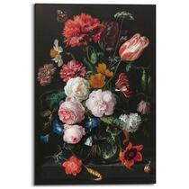 Wandpaneel Jan Davidsz de Heem Stilleven met bloemen - multikleur - 60x90cm