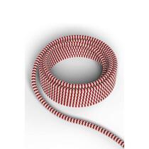 Calex strijkijzersnoer - 1,5 mtr - rood/wit