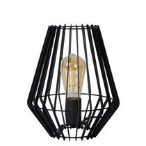 Lampe de table Lucide Reda 23,5x23,5x26 cm - noir