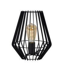 Lucide tafellamp Reda 23,5x23,5x26 cm - zwart