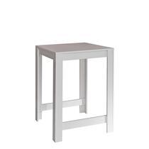 Symbiosis bartafel Tilst - wit/betongrijs - 102x80x70 cm