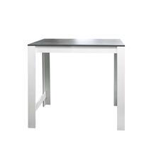 Symbiosis bartafel Tilst - wit/betongrijs - 102x110x70 cm