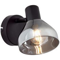 Brilliant wandspot Reflekt - zwart