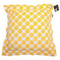 <p>Le coussin décoratif Klaproos est jaune. Doté d'un joli imprimé fleuri. A l'aide de ce coussin décoratif Klaproos vous égayez votre intérieur en un tour de main!</p>
