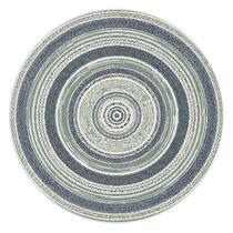 Vloerkleed Mababe - blauw - 120 cm
