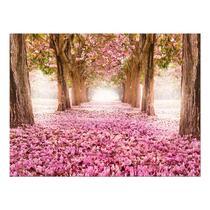Art for the Home schilderij Bos - roze - 100x75 cm