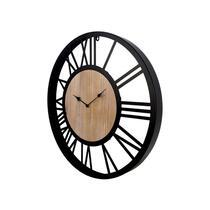 HSM Collection horloge murale Aris - fer/bois - 60 cm