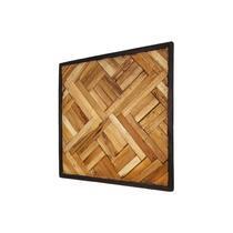 HSM Collection wandpaneel Kyros - naturelkleur - 60x60 cm