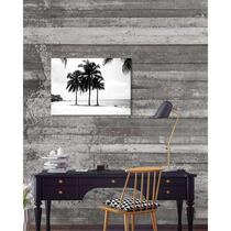 Wohnidee canvas Palmen - zwart/wit - 70x50 cm