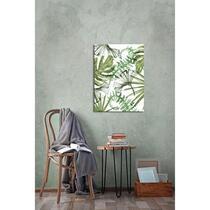Avec cette toile Feuilles tropicales de Wohnidee vous décorez votre intérieur en un tour de main.