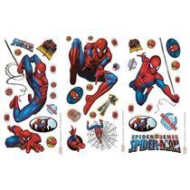 Art for the Home muursticker Spiderman - multikleur - 17x34 cm