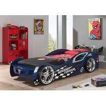 Vipack autobed Grand Turismo en boekenkast Racer
