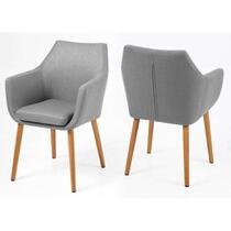 Eethoek Ulfborg Uppsala (tafel met 4 stoelen) - bruin/grijs