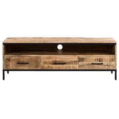 TV-meubel Trevor - bruin - 50x148x45 cm - Leen Bakker