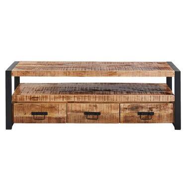 TV meubel Scott - metaal/hout - 50x150x45 cm - Leen Bakker