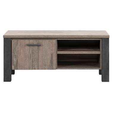 TV-dressoir Kai - donkerbruin eikenkleur - 52x118x50 cm - Leen Bakker