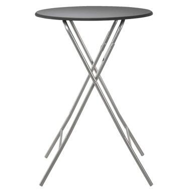 Sta-tafel Asten inklapbaar - zwart - 80x112 cm - Leen Bakker