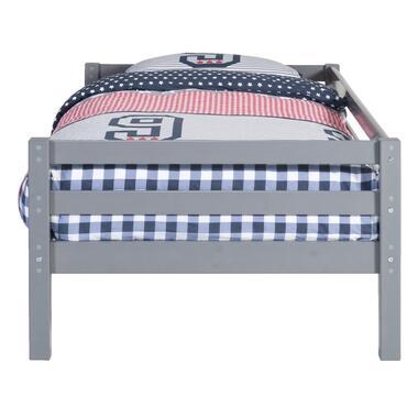 Bed Ties - antraciet - 90x200 cm - Leen Bakker