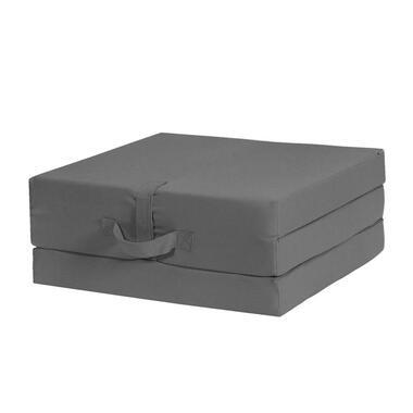 Opvouwbaar matras Rumba - antraciet - 70x190x9 cm
