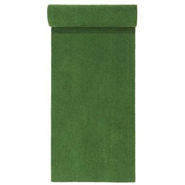 Grastapijt Savanne - groen - 133x400 cm - Leen Bakker