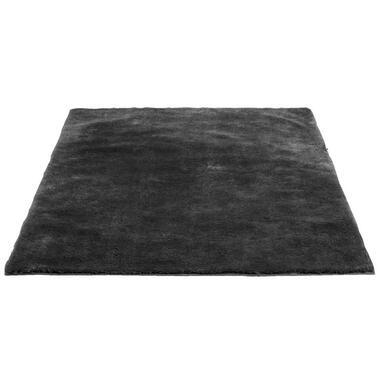 Vloerkleed Tessa - donkergrijs - 160x230 cm - Leen Bakker