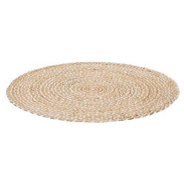 Vloerkleed Madras - naturel - 100 cm - Leen Bakker