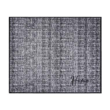 Mat Walk&Wash Home Couture - grijs - 67x80 cm - Leen Bakker