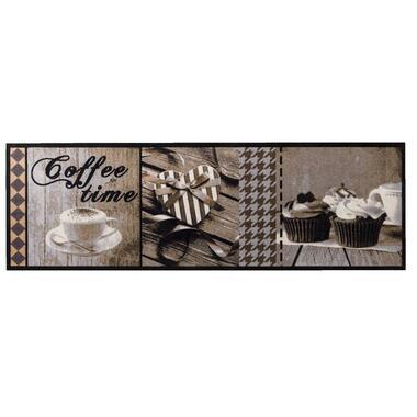Keukenloper Coffee Time - 50x150 cm - Leen Bakker