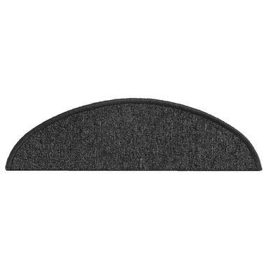 Trapmat Sprint-step - zwart (16 stuks) - Leen Bakker