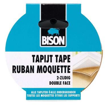 Bison tapijttape - 10 m x 5 cm - Leen Bakker