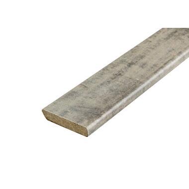 Plakplint Barnwood - bruin - 240x2,2x0,5 cm - Leen Bakker
