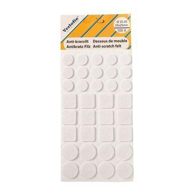 Anti-krasvilt - wit (105 stuks) - Leen Bakker