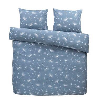 Comfort dekbedovertrek Myra blauw 240x200 220 cm Leen Bakker