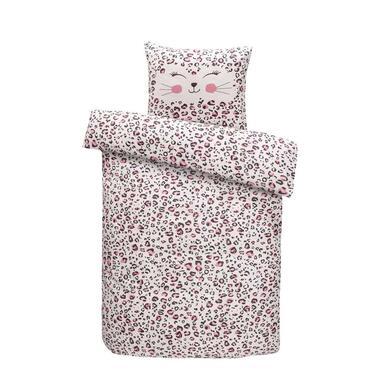 Comfort dekbedovertrek Mikki roze 120x150 cm Leen Bakker