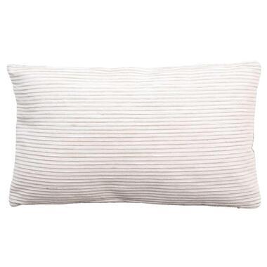 Sierkussen Ben - off-white 30x50 cm - Leen Bakker