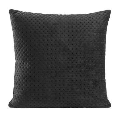 Sierkussen Alain - zwart - 45x45 centimeter - Leen Bakker