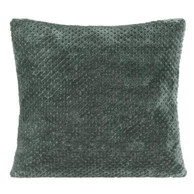Sierkussen Ilona - groen - 45x45 cm - Leen Bakker