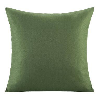 Sierkussen Triton - groen - 45x45 cm - Leen Bakker