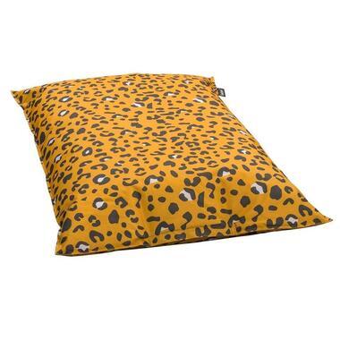Lebel zitzak Leopard - oker - 100x150 cm - Leen Bakker