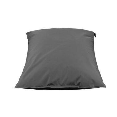 Lebel loungekussen - antraciet - 100x150 cm - Leen Bakker