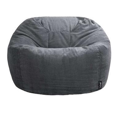 Plof chair - antraciet - 108x54 cm - Leen Bakker