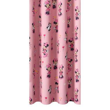 Gordijnstof Minnie - roze - Leen Bakker