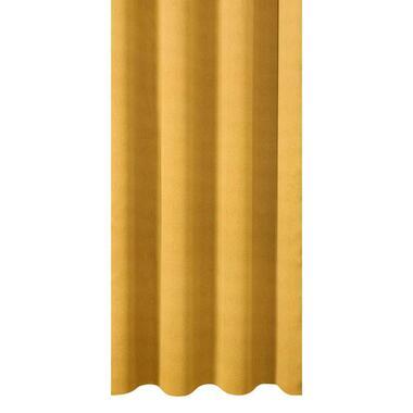 Gordijnstof Canterbury - geel - Leen Bakker