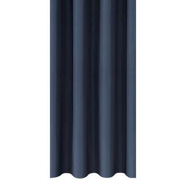 Gordijnstof Marnix - donkerblauw - Leen Bakker