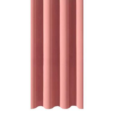 Gordijnstof Rome - roze - Leen Bakker
